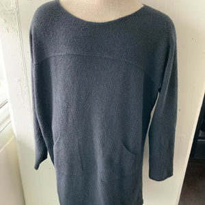 Peruvian Connection Black Long Sleeve Sweater